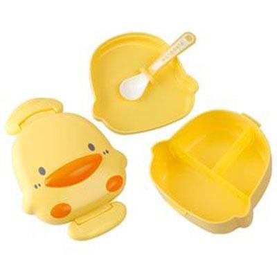 ~佳兒園婦幼 館~Piyo 黃色小鴨 造形餐盒