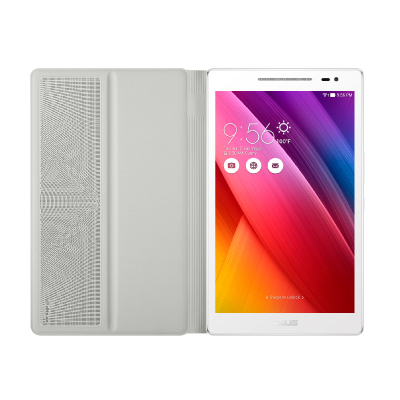 【華碩】ASUS ZenPad 8吋平板+白色音響皮套 Z380C/Wifi版/2G/16G-白