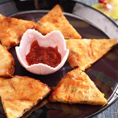 泰式月亮蝦餅(附泰式酸辣醬)