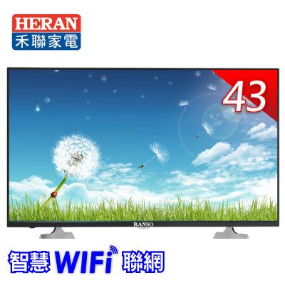 聯碩 43型智慧WiFi聯網電視43RS-I6A