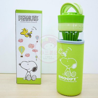 史努比Snoopy^~樂優蔬果榨汁養生瓶^(500ml^)~D093001~水瓶 水壺