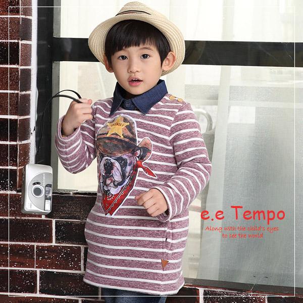 eetempo 小狗 棉質上衣A11118^(  ^)