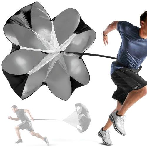 ~好動網~SPEED CHUTE衝刺抗阻力傘 ^( 送收納袋 ^) 田徑訓練跑步傘 爆發力