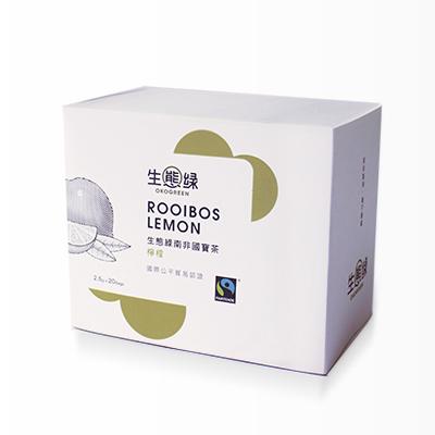 【生態綠】公平貿易南非國寶茶/檸檬
