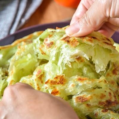 蔥媽媽 菠菜蔥抓餅2包