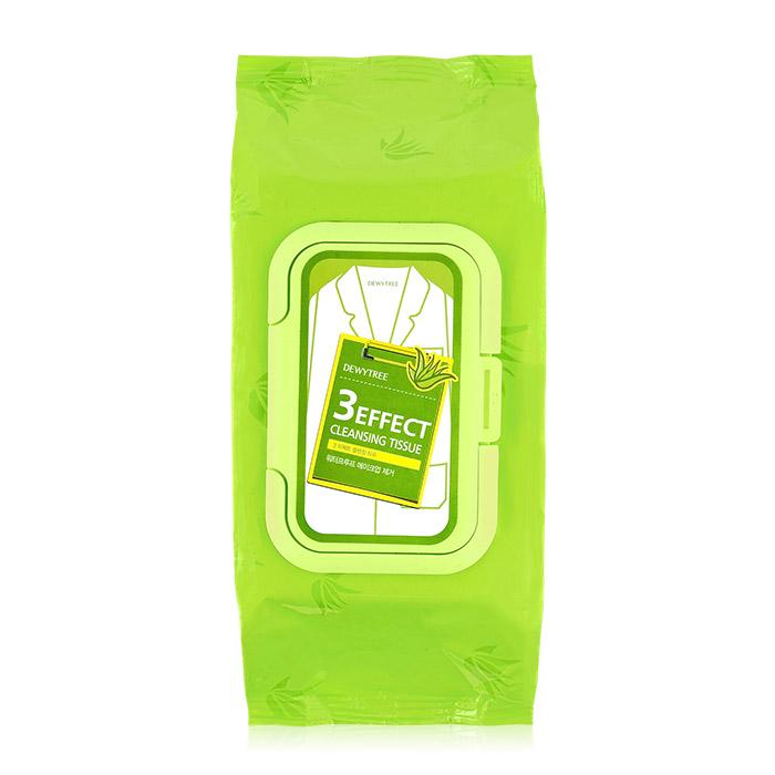 韓國 DEWYTREE 溫和保濕深層卸妝巾^(大包^) 520g 100抽~ROKE750
