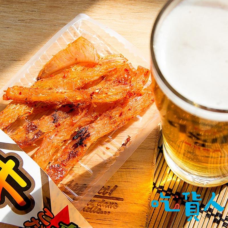 【吃貨人】〖下酒菜〗小島泡菜烤墨魚 18g