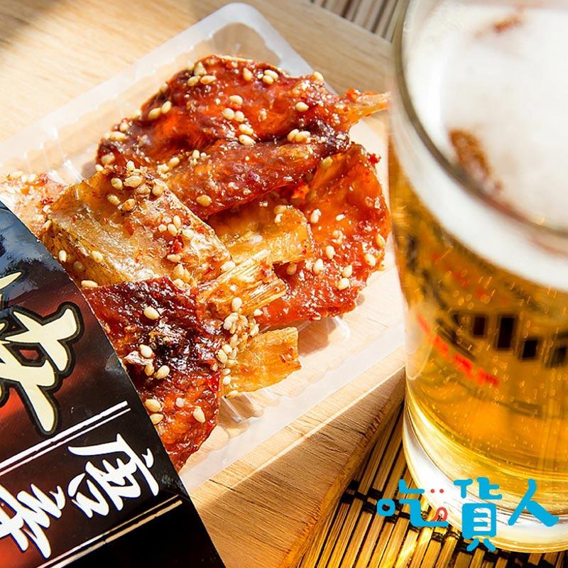 【吃貨人】〖下酒菜〗小島辣烤芝麻小鯛 28g