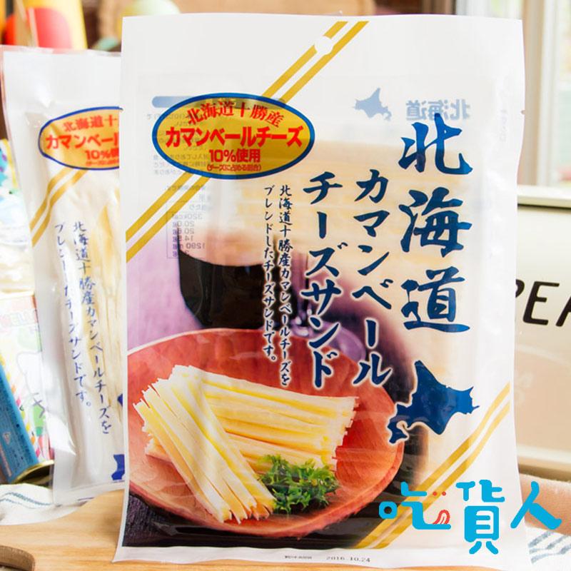 【吃貨人】〖長條起司〗北海道十勝鱈魚起司條 68g