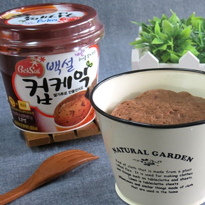 【韓國CJ】DIY微波杯子蛋糕(巧克力口味)