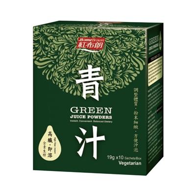 【紅布朗】青汁(19g*10包)