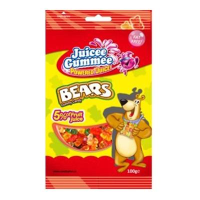 【JUICE GUMMEE】百靈QQ軟糖-水果熊100G