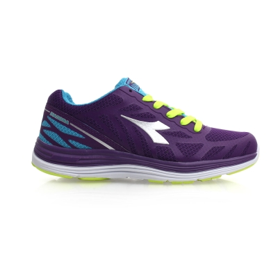 DIADORA 女慢跑鞋^(寬楦 路跑 健身 訓練≡排汗 ≡ ~02015343~