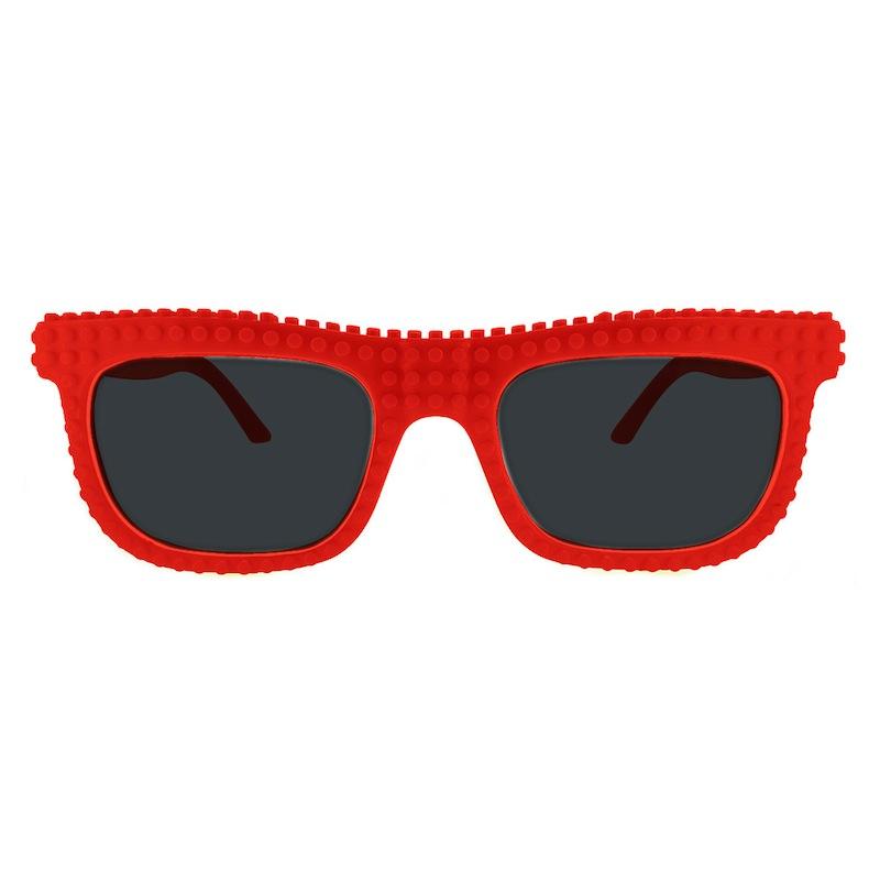 【nanoblock】日本河田積木太陽眼鏡-紅色(SG05)