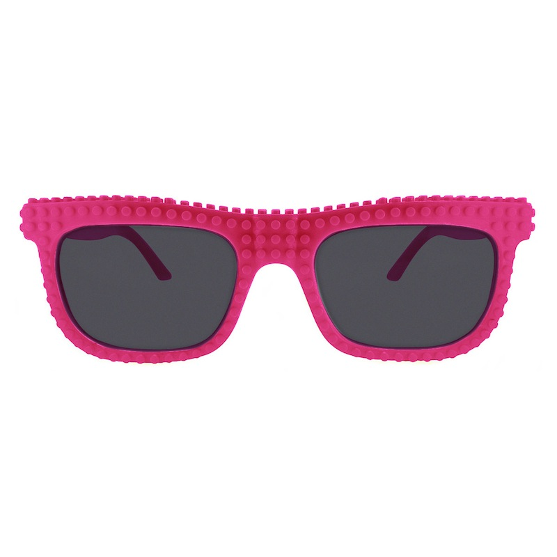 【nanoblock】日本河田積木太陽眼鏡-桃紅色(SG01)