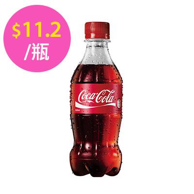 可口可樂寶特瓶350ml-24入/箱