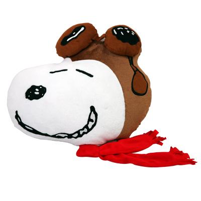 【史努比SNOOPY】側臉飛行員抱枕