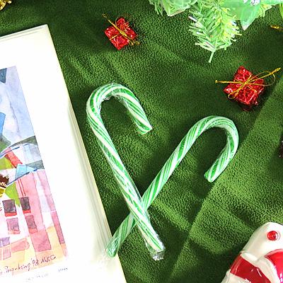 聖誕旋律柺杖糖-綠色