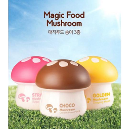 韓國 TONYMOLY 神奇蘑菇系列面膜 70ML 巧克力 草莓 金菇 ~三款供選~岡山真
