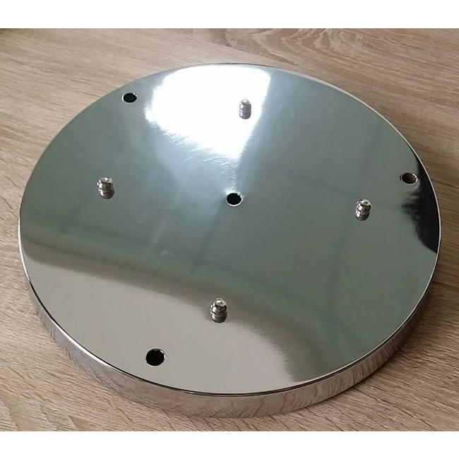 ~YOI燈飾~吊燈用吸頂圓盤 30cm^(底盤 底座^)黑 白 電鍍^( 45cm圓形及長