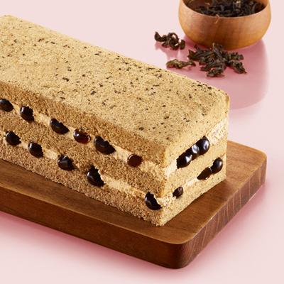 【JI BOON滋。本家】 波霸珍珠奶茶蛋糕磚-4入組(平均$283/入)
