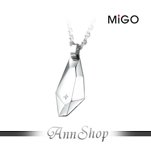 ~米格MiGO‧愛的焦點白鋼項鍊~男款~情人 SPD695