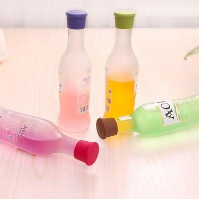 防塵防水圓形酒瓶塞~ 顏色隨機