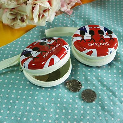 韓版耳機小物零錢收納包~紅色