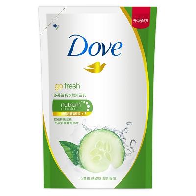【多芬】沐浴乳補充包 650g