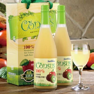 康瑟司100%奇異果綜合果汁(二入禮盒)