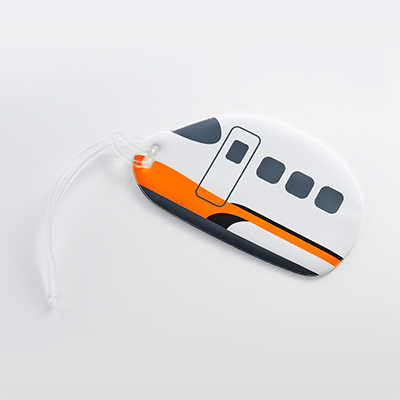 【台灣高鐵】700T列車造型行李吊牌