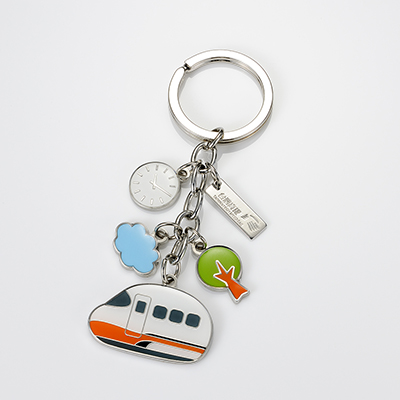 【台灣高鐵】Q版列車鑰匙圈