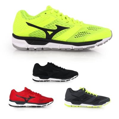 MIZUNO SYNCHRO MX 男款慢跑鞋^( 路跑 美津濃≡排汗 ≡~0201537