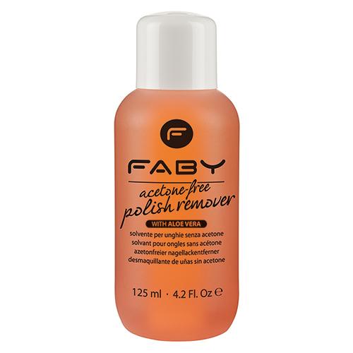FABY 無丙酮去光水^(橘^)125mL~ARF125