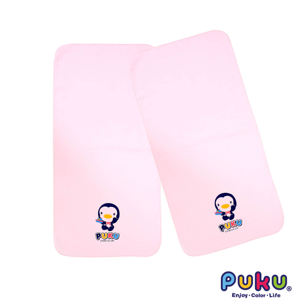 素色紗布澡巾^(2入^)粉~30^~60cm