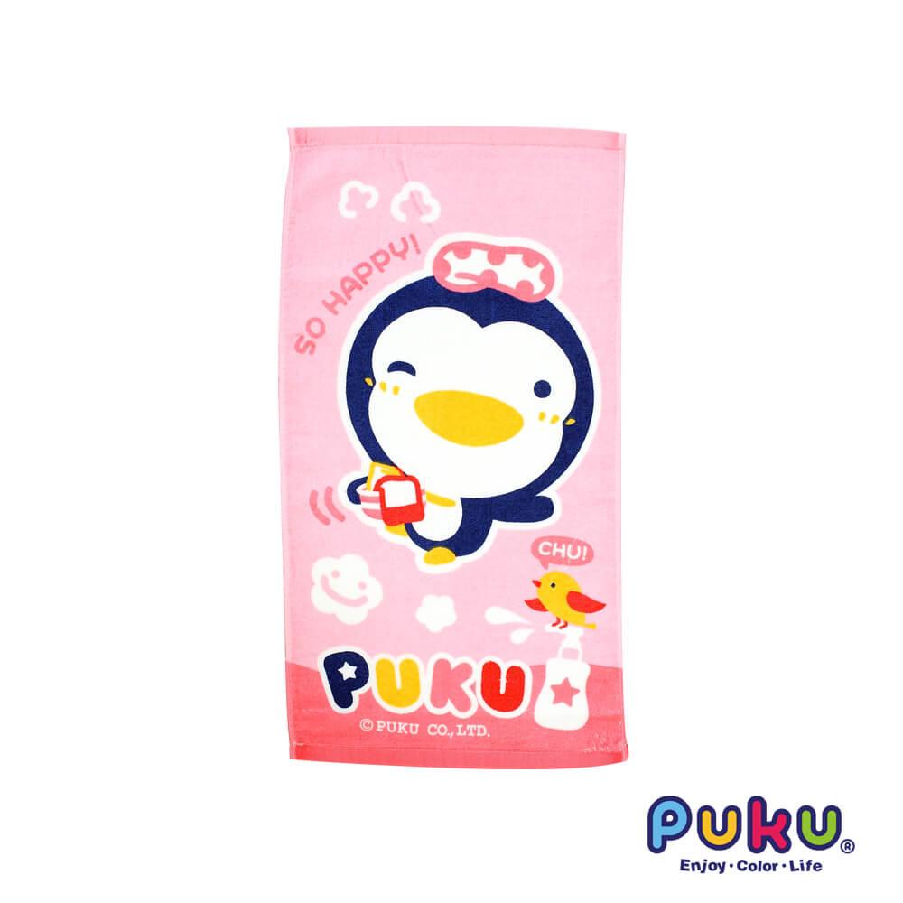 PUKU長方毛巾^(粉^)~45^~30cm