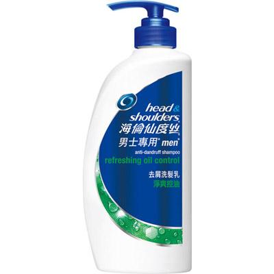 【海倫仙度絲】男士專用淨爽控油去屑洗髮乳