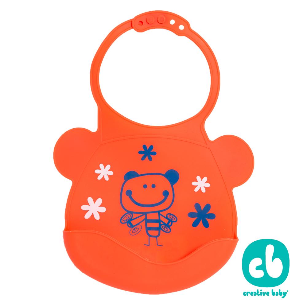 ~下殺↘33折再買一送一~Creative Baby 創寶貝創寶貝可收納式攜帶防水無毒矽膠
