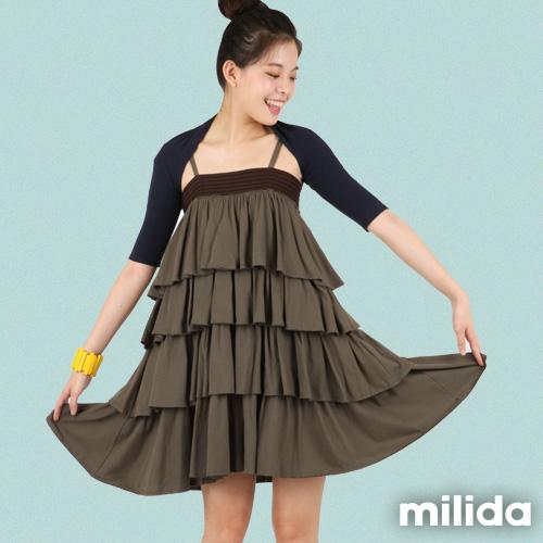 ~milida~MT09P014~五分袖短版外套~