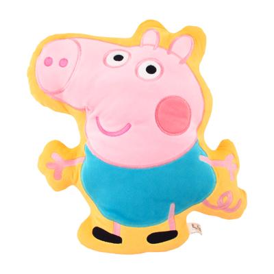 【Peppa Pig 粉紅豬】12吋造型枕-喬治