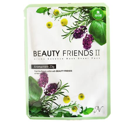 【Beauty Friends】花香精華面膜