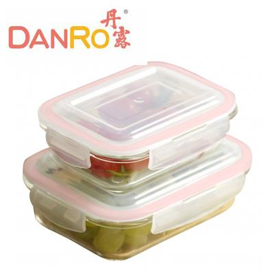 DANRO丹露~密扣式方型保鮮盒DG~1040640 ~曼曼小舖~