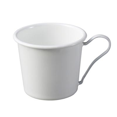 【PEKOE精選】月兔印-琺瑯馬克杯(白色手柄)