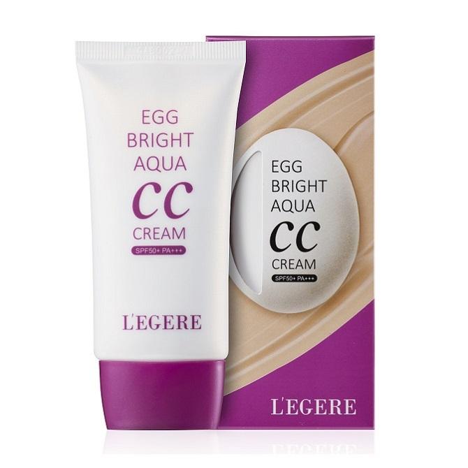 【L'EGERE】蛋肌水感CC 霜 (SPF50+ PA+++)