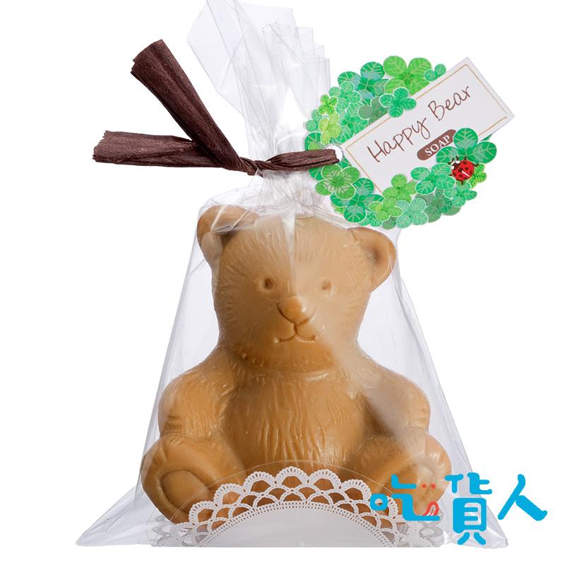 快樂布朗熊香皂單入