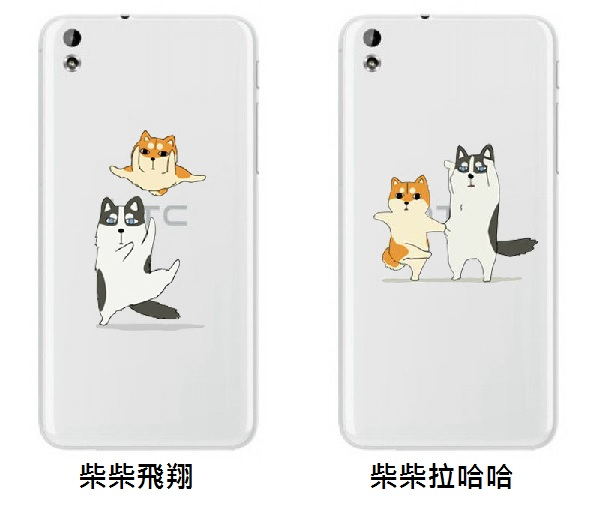 K M手機殼軟殼TPU柴犬哈士奇跳舞系列~OPPO~R7 R7S R7 F1 R9 R9