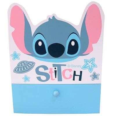 【迪士尼】史迪奇造型抽屜收納盒