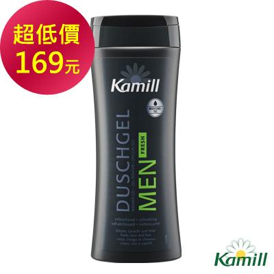 kamill洋甘菊男士清爽沐浴膠250ml