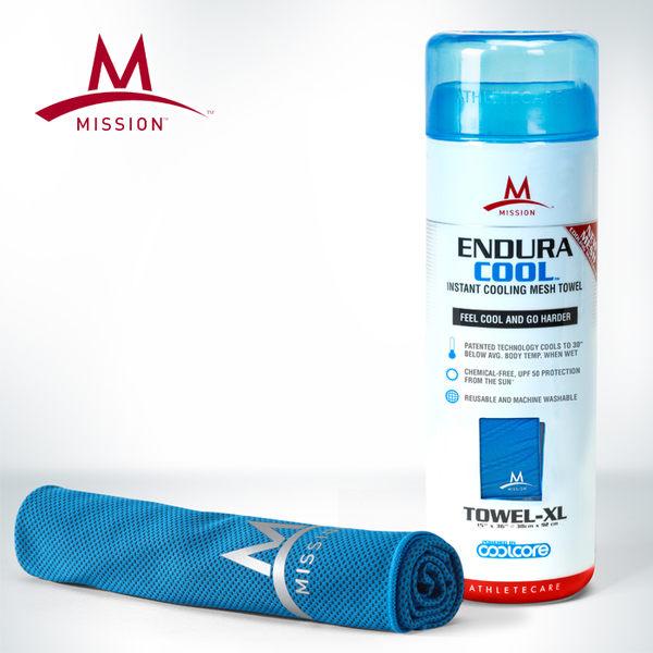Mission 急凍酷涼機能毛巾 藍 XL 1107207