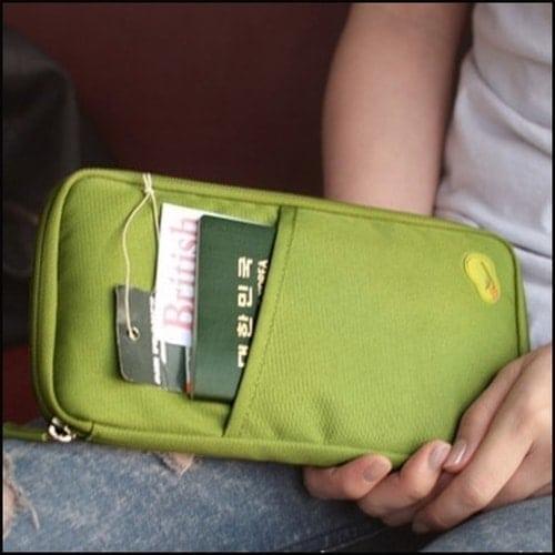 多 旅行多用手拿包收納包卡包錢包~LF21852~